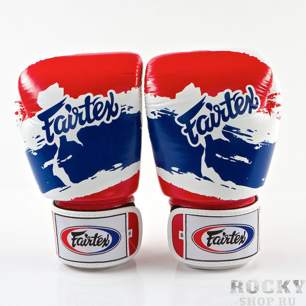 Купить Перчатки для тайского бокса на липучке Fairtex Thai Pride 8 oz (арт. 13594)