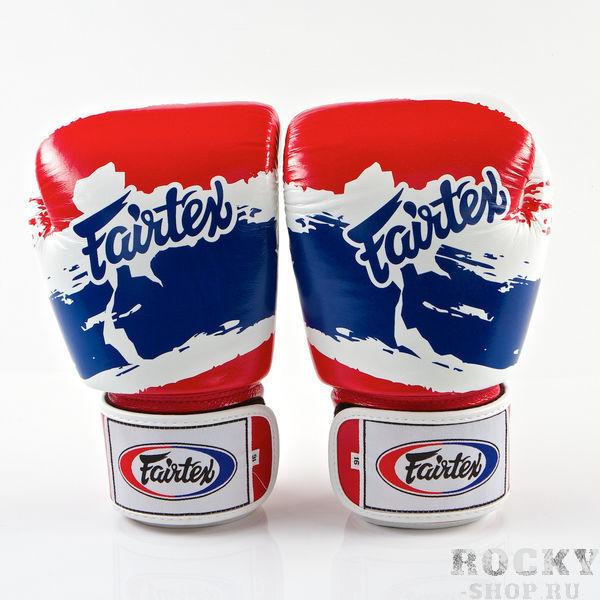 Купить Перчатки для тайского бокса на липучке Fairtex Thai Pride 18 oz (арт. 13597)