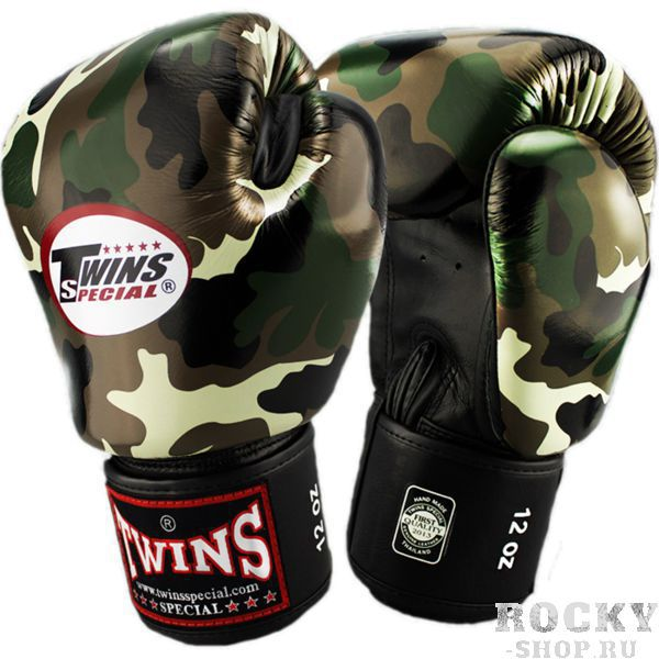 Перчатки для тайского бокса Twins Special, 12 oz Twins SpecialЭкипировка для тайского бокса<br>Классические перчатки Twins Special. Отличный вариант для тренировок и выступлений на любительких соревнованиях (почему, спросите вы, на любительских? потому что на профессиональных организатор выдаст вам регламентируемые перчатки) по тайскому боксу, к-1. Ремень-липучка обеспечивает хороший обхват руки. Очень удобная посадка кулака. Внешняя часть перчаток- 100% кожа!Производство: «TWINS SPECIAL» - Таиланд.<br>