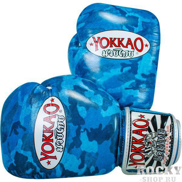 Купить Перчатки для тайского бокса Yokkao Green Army 12 oz (арт. 13600)