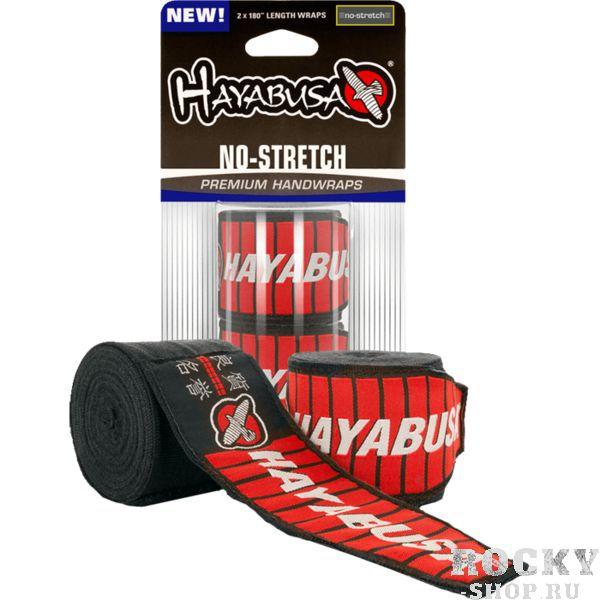 Боксерские бинты Hayabusa No-Stretch, черные, 4.5 метра Hayabusa