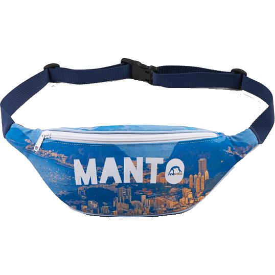 Поясная сумка Manto Logo MantoСпортивные сумки и рюкзаки<br>Поясная сумка Manto RIO. Достаточно вместительная и качественная сумка. Удерживается на поясе. Размер регулируется. Сделана сумка из водонепроницаемого материала кордура.<br>