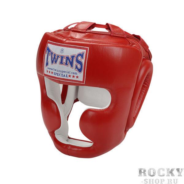Шлем для тайского бокса, тренировочный, крепление на липучке, Размер L Twins SpecialЭкипировка для тайского бокса<br>Шлем HGL-3Twins HGL-3 — это полнозащитный боксерский шлем, надежно защищающий лицо фактически от любых микротравм. Его применяют на тренировках, когда важно предельно обезопасить боксера от разнообразных микротравм лица, челюстей, костей носа и т. п. В его конструкции предусмотрена защита щек, нижней челюсти, подбородка, можно даже сказать, фактически всего лица и головы. Шлем может иметь красный, черный, синий цвет, предусмотренный правилами боевых единоборств (бокса, таиландского бокса). ПреимуществаЭтот полнозащитный шлем от Twins Special обладает следующими преимуществами:у него первоклассная анатомическая вид, вследствие которой шлем безупречно сидит на голове боксеров, не съезжает и не натирает кожу;он изготавливается из высококачественной 100% кожи, это гарантирует наивысшую устойчивость шлема износу, минимизирует риск аллергических реакций;шлем имеет пенистый наполнитель, обладающий хорошими амортизационными свойствами;у него есть дополнительные уплотнения, окружающие уши;это индивидуальное работа;у шлема HGL-3 комфортабельная застежка-липучка;модель имеет первоклассное соотношение качества и цены;есть совокупность регулировки, позволяющая кастомизировать шлем по голове боксера и надежно закрепить его. Наше предложениеВ современном интернет магазине боксерской экипировки «Рокки» мы предлагаем недорого приобрести полнозащитные шлемы Twins HGL-3 по привлекательным, конкурентным ценам. У нас в наличии шлемы, имеющие M, L, XL размеры. Под заказ мы сможем найти для наших покупателей тренировочные шлемы менее востребованных размеров или расцветок. Для вас возможна бесплатная доставка приобретенных у нас товаров. Консультанты помогут выбрать наиболее подходящий тренировочный шлем Twins в зависимости от окружности головы. Мы предлагаем исключительно первоклассные изделия, приобретенные непосредственно на заводах этого известного производителя. <br> На