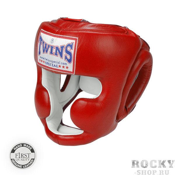 Шлем для тайского бокса, тренировочный, крепление на резинке, Размер XL Twins SpecialЭкипировка для тайского бокса<br>Защищает лицо от травм<br> Имеет конструкцию с защитой щёк<br> Застёжка-липучка на затылке гарантирует удобство при одевании и снятии шлема<br> Широкие эластичные резинки вместо стандартных шнурков<br> Отличный обзор<br> Кожа топового качества<br> Ручная работа<br><br>Цвет: Синий