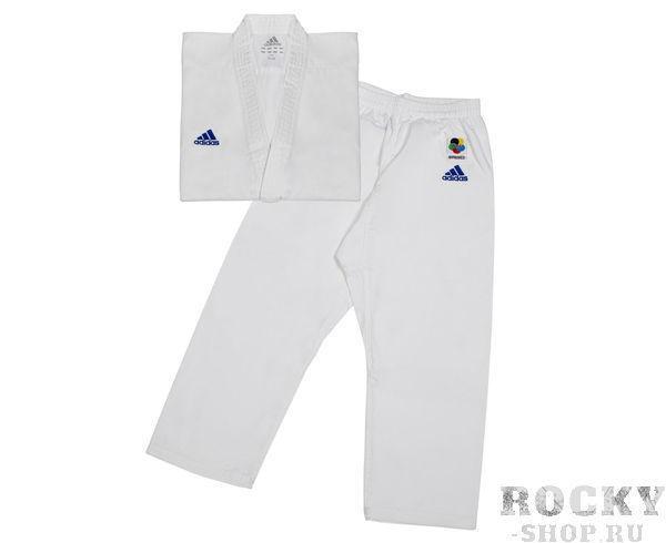 Купить Кимоно для карате Club WKF [160-180] Adidas белое (арт. 13716)