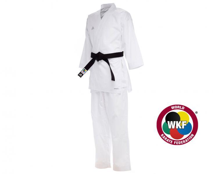 Купить Кимоно для карате Kumite Fighter WKF белое Adidas 170 см (арт. 13717)