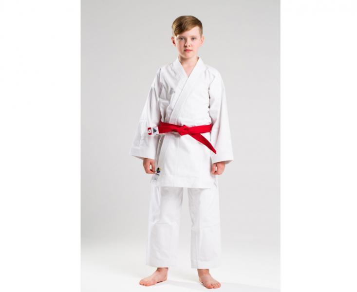 Купить Кимоно для карате Elite European Cut WKF белое Adidas 180 см (арт. 13739)