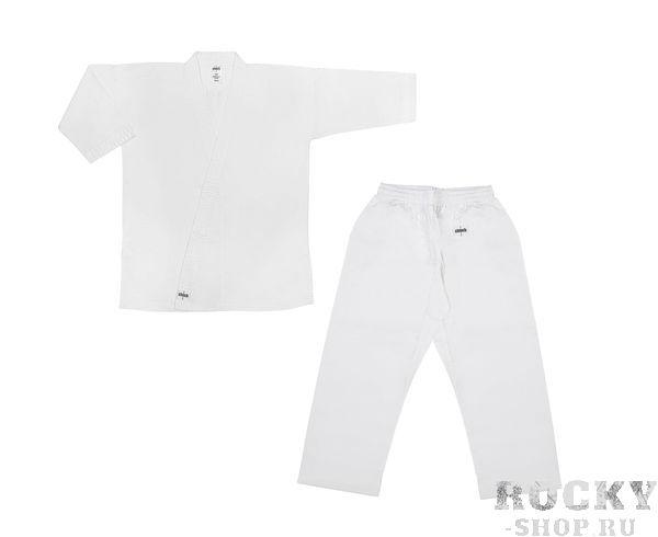 Детская экипировка для карате Детское кимоно для карате детское Clinch Karate Classic белое, 120 см Clinch GearДля карате<br>Кимоно карате Classic. 100% хлопок, отбеленное, плотность 8–8,5 унций. Пояс штанов на широкой резинке и на шнуре.Усиление швов, по низу штанин, куртки и рукавов – многострочная прошивка. Без пояса.<br>