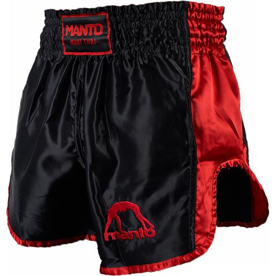 Шорты для тайского бокса Manto Vibe MantoШорты для тайского бокса/кикбоксинга<br>Шорты для тайского бокса Manto Vibe. Широкий эластичный пояс гарантирует комфорт и надежную фиксацию на поясе. Состав: 100% полиэстер.<br><br>Размер INT: XL