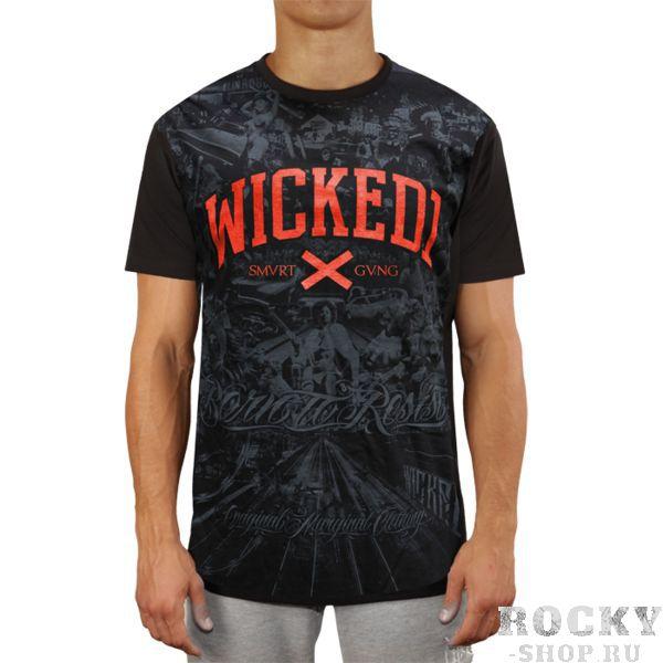 Футболка Wicked One Ride Wicked OneФутболки<br>Футболка Wicked One Ride. - Укороченный рукав. - Хлопок 200 грамм. - Очень качественный принт. Уход: машинная стирка, не отбеливать, деликатный отжим.<br><br>Размер INT: S