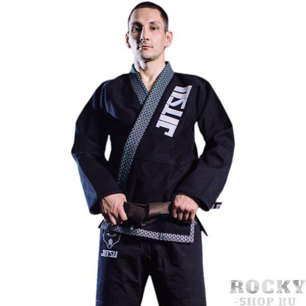 Кимоно для БЖЖ Jitsu Bear JitsuЭкипировка для Джиу-джитсу<br>Кимоно для БЖЖ Jitsu Bear. Лимитированная серия кимоно для бразильского джиу джитсу. Ги, отвечающее высоким стандартам качества. Кимоно отлично подойдет для тренировок самой высокой интенсивности. Внимание к мелочам - показатель высокого уровня товара! Особенности кимоно: • Куртка сделана из 1 куска 100% хлопка плотностью 550 г/кв. м. ; • Тип плетения ткани - pearl weave; • Кимоно усажено, но небольшая усадка возможна; • Пояс приобретается отдельно. Состав:100% хлопок.<br><br>Размер: A1
