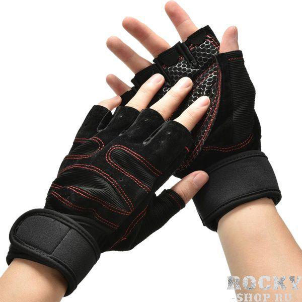 Жимовые перчатки RDX RDXПерчатки для фитнеса<br>Атлетические перчатки RDX. Великолепные перчатки для тяжелой атлетики. Перчатки изготовлены из современных прочных материалов (нейлон, полиуретан), которые прослужат вам долго. На ладони и основных фалангах сделаны дополнительные вставки, обеспечивающей мягкость и комфорт во время работы с железом (а так жетурниками, брусьями), которые предотвращают огрубение ладони и появление мозолей.<br><br>Размер: L
