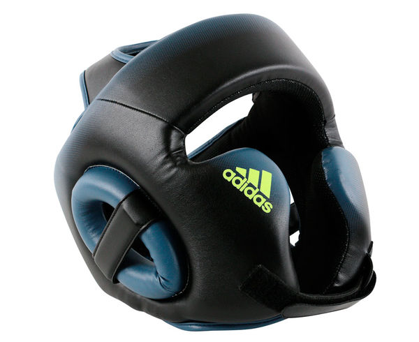 Купить Шлем боксерский Speed Head Guard черно-синий Adidas (арт. 14000)