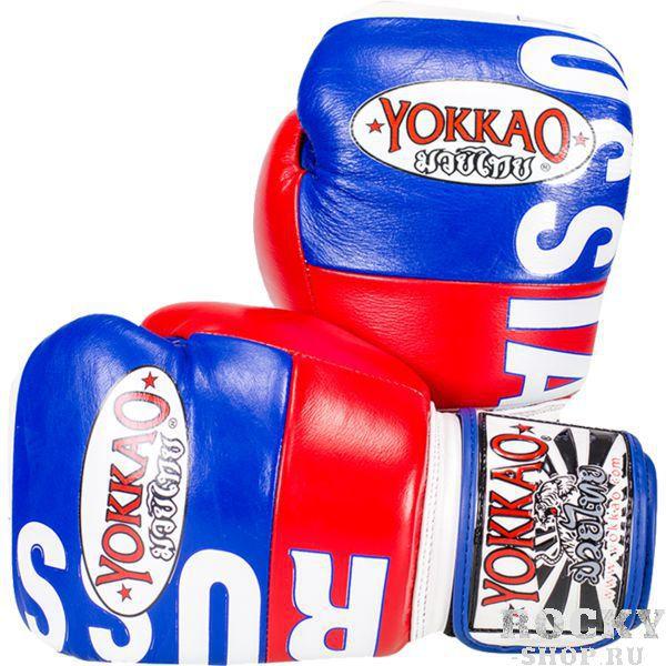 Купить Перчатки для тайского бокса Yokkao Russia 14 oz (арт. 14002)