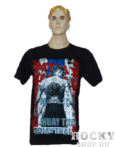 Футболка Muay Thai Muay Thai WarriorsФутболки / Майки / Поло<br>100 % хлопок,Ручная работа,Производство Тайланд.<br>