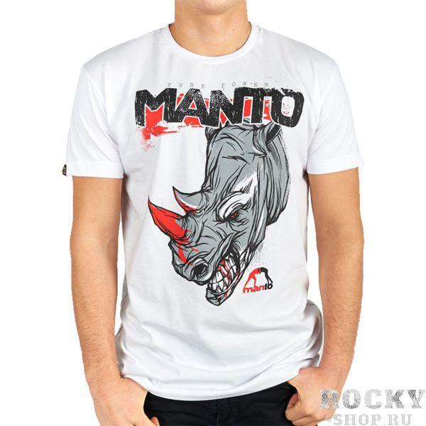Футболка Manto Rhino MantoФутболки / Майки / Поло<br>Футболка Manto Rhino. У носорогов слабое зрение. Но при этом необходимо помнить, что его вес может достигать более двух тонн, а скорость он может развивать свыше 40км/ч. Не дразните носорогов! Состав: 100% хлопок.<br>