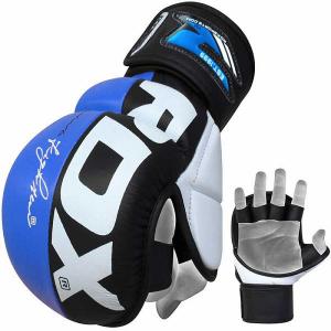Перчатки RDX Grappling Rex Blue RDXПерчатки MMA<br><br>