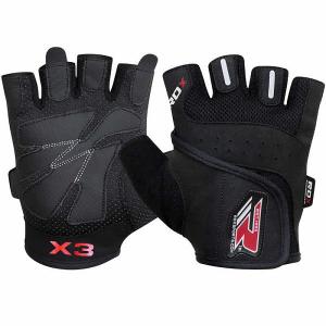 Перчатки атлетические RDX Amara Bodybuilding Black (арт. 14145)  - купить со скидкой