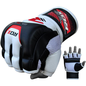 Перчатки RDX Grappling White/Black