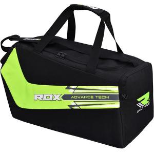 Спортивная сумка RDX Training Gym Black/Green RDXСпортивные сумки и рюкзаки<br>Спортивная сумка RDX Training Gym Black/Green Износостойкая спортивная сумка RDX Training Gym Black/Green из водоотталкивающего материала привлекает своим необычным дизайном. Основной отсек вместительный, есть отдельный отсек для обуви! Спортивная сумка пригодится для походов на тренировки, а также для небольших путешествий налегке.  Состав:синтетический материал Superior<br>
