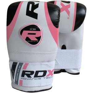 Купить Женские снарядные перчатки RDX Bag Mitts Pink/White (арт. 14158)