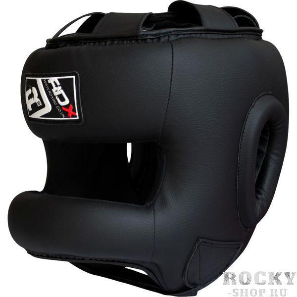 Шлем RDX с бампером HGR-T2 Black RDXБоксерские шлемы<br>Боксерский шлем RDX с бамперной защитой. Высококачественная натуральная кожа покрывает этот прочный и надёжный элемент защиты. Внутренняя часть шлема. Помимо защиты самой головы, шлем так же защищает щеки и уши. Отличное соотношение цена/качество.<br><br>Размер: L