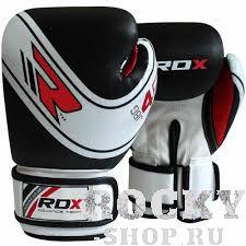 Купить Боксерские Перчатки RDX Kids White/Black 6 oz (арт. 14165)