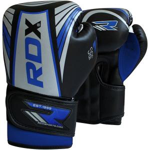 Купить Детские боксерские перчатки RDX Kids Silver/Blue 6 oz (арт. 14166)