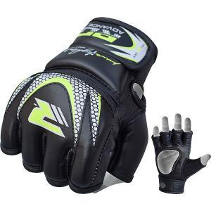 Купить Детские перчатки для MMA RDX Grappling Kids Black/Green JGG-J33GN (арт. 14170)