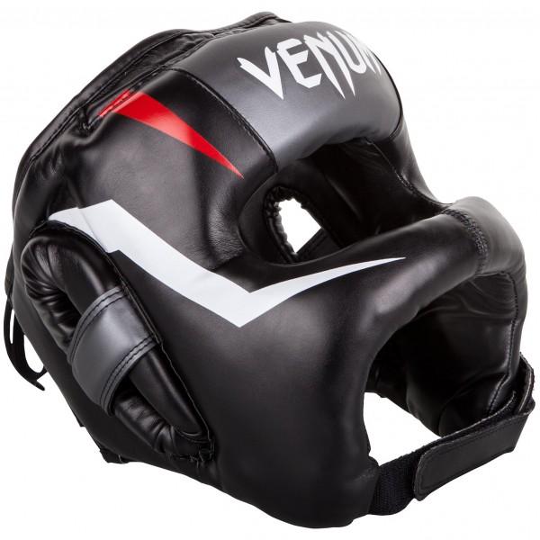 Купить Шлем боксерский Venum Elite Iron Black (арт. 14184)
