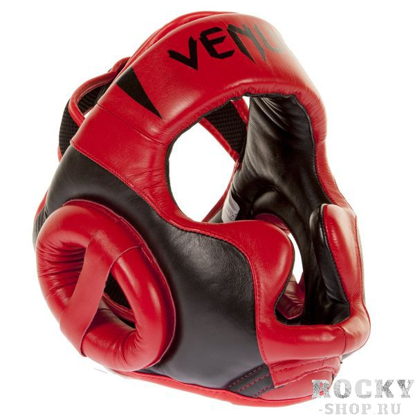 "Шлем боксерский Venum ""Absolute 2.0"" Headgear - Red Devil Venum"
