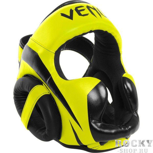 Шлем боксерский Venum Elite Neo Yellow VenumЭкипировка для тайского бокса<br><br><br>Размер: Без размера (регулируется)