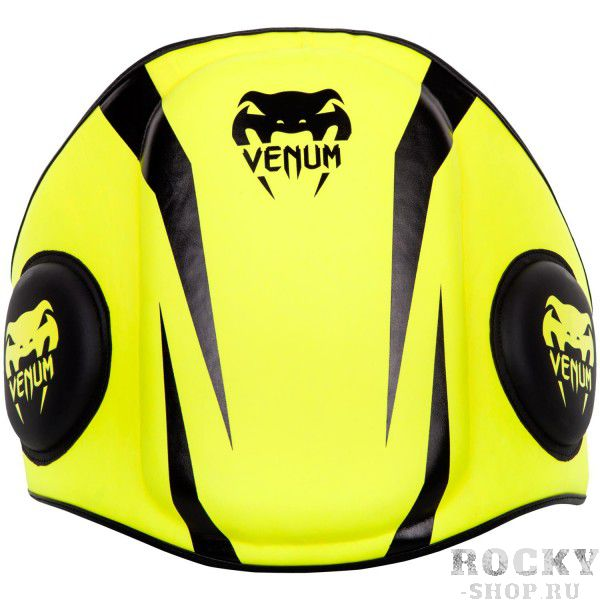 Купить Пояс тренера Venum Elite Body Belly Protector Fluo Yellow (арт. 14203)