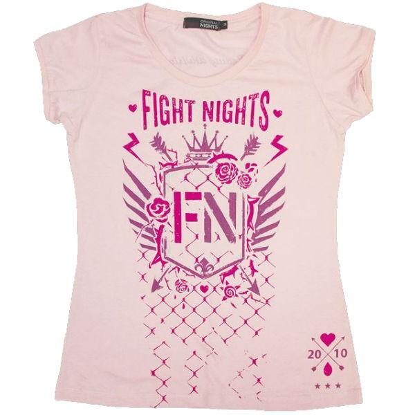Футболка женская Fight Nights Стрелы розовая (арт. 14227)  - купить со скидкой
