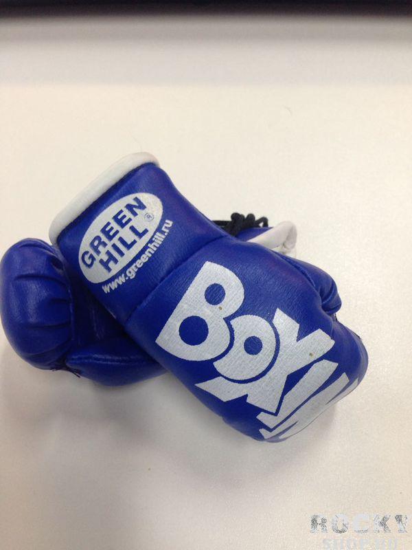 Брелок сувенирный Boxing в машину Green HillСувенирная продукция<br>Брелок в машину от Green Hill.Двойные перчатки из кожзама.<br>