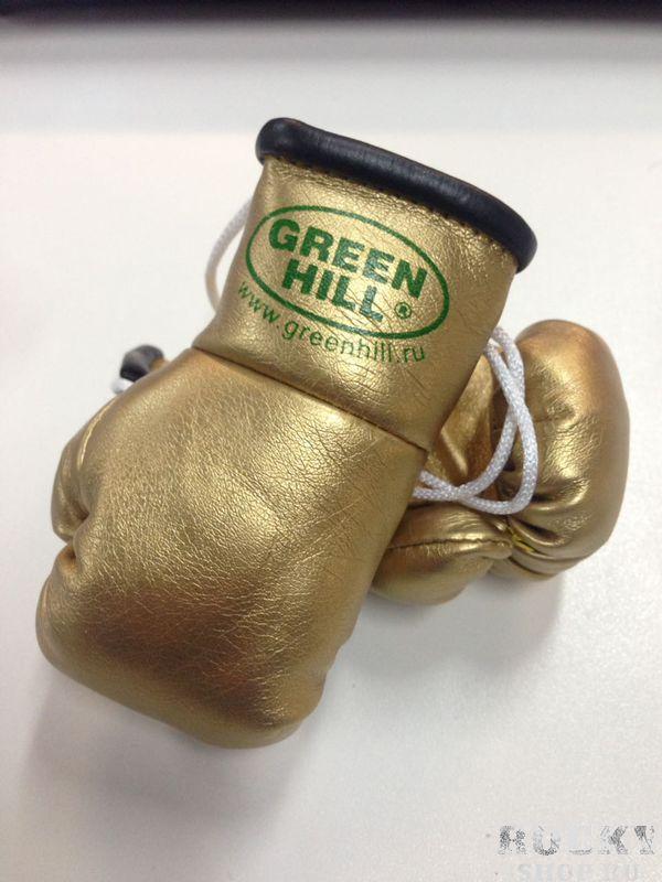 Брелок - перчатки Green Hill в машину Green HillСувенирная продукция<br>Брелок в машину от Green Hill.Двойные перчатки из кожзама.<br>