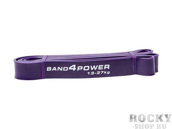 Фиолетовая резиновая петля, 13-37 кг Band4PowerАксессуары для фитнеса<br>Фиолетовые петли чаще всего используют для жима лежа, закрепляя их по обоим концам штанги, после чего выполняют взрывные движения. Данная петля также очень эластичная, что позволяет производить функциональные тренировки, а также отрабатывать удары. При одновременном использовании двух таких петель можно отработать махи в стороны, провести тренировку дельтовидных мышц. <br>Нагрузка 13-37 кг<br><br>Вес 0. 28 кг<br><br>Длина 104 см<br><br>Толщина 4. 5 мм<br><br>Ширина 32 мм<br>