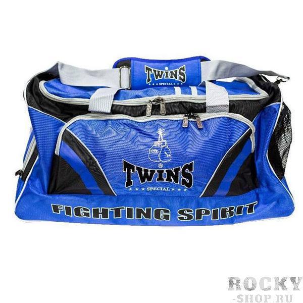 Сумка спортивная, Синий Twins SpecialСпортивные сумки и рюкзаки<br>Большая и удобная спортивная сумка. &amp;lt;p&amp;gt;Преимущества:&amp;lt;/p&amp;gt;    &amp;lt;li&amp;gt;Большая вместительность&amp;lt;/li&amp;gt;<br>    &amp;lt;li&amp;gt;Удобные карманы для переноски экипировки&amp;lt;/li&amp;gt;<br>