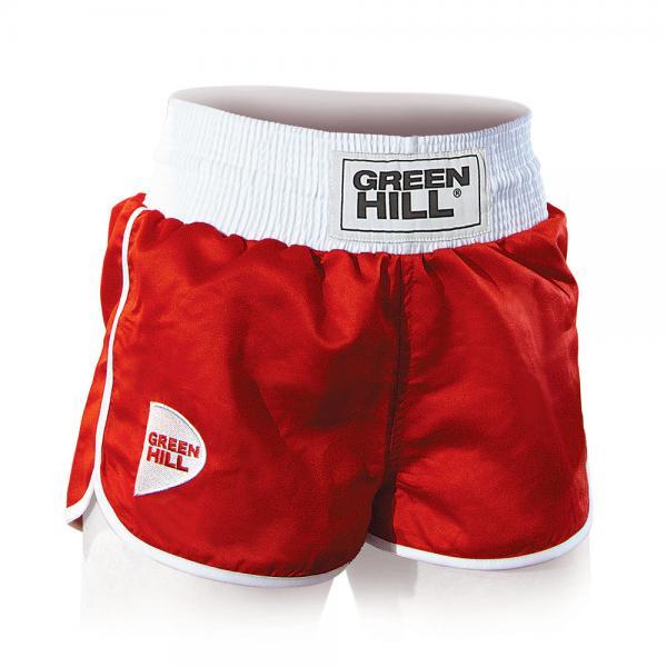 Купить Женские шорты для бокса lucy Green Hill красные (арт. 14330)