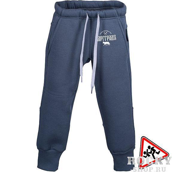 Детские брюки Варгградъ ВаргградСпортивные штаны и шорты<br>Детские спортивные брюки Варгградъ Волк тёмно-серые. Состав: хлопок/полиэстер. Уход: Машинная стирка в холодной воде, деликатный отжим, не отбеливать!<br><br>Размер INT: 24/80