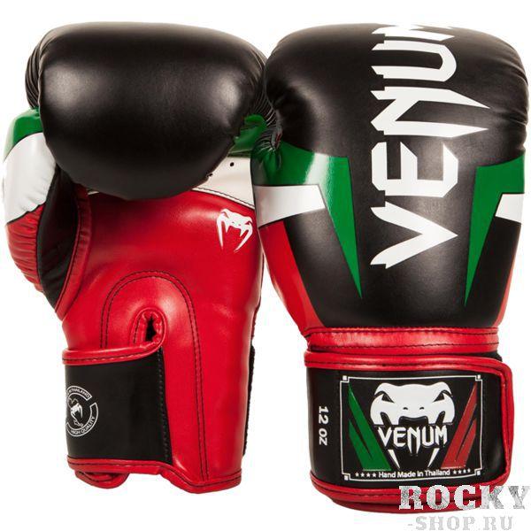 Боксерские перчатки Venum Italy, 12 oz VenumБоксерские перчатки<br>Боксерские перчатки Venum Italy. Классические перчатки для бокса, муай тай, ММА. Предназначены главным образом для работы в спаррингах. Очень хорошо сидят на руке. Широкая застежка обеспечивает надежную фиксацию перчаток Venum на запястье. Внутренний наполнитель - пена, которая обеспечивает хорошую амортизацию удара, а значит и обеспечивает хорошую защиту рук. Внешняя часть перчаток выполнена из материала Semi Leather. Очень качественно сделанные швы.<br>