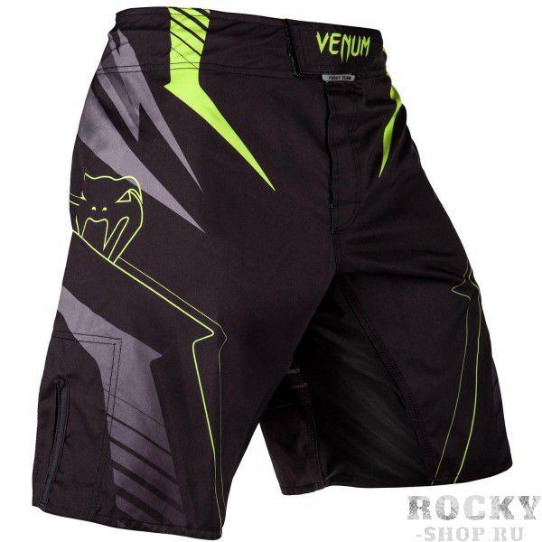 Купить Шорты ММА Venum Sharp 3.0 Black/Neo Yellow (арт. 14383)