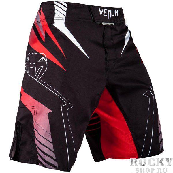 Шорты ММА Venum Sharp 3.0 Black/Red VenumШорты ММА<br>Шорты ММА Venum Sharp 3. 0 Black/Redобладают взрывным и оригинальным дизайном, который полностью сублимирован в волокно ткани. Способны выдерживать самые интенсивные нагрузки во время тренировок. Специальные тянущиеся вставки, а также боковые разрезы гарантируют максимальный диапазон движений с комфортом. Застежка на не царапающихся липучках надежно зафиксирует шорты на талии. Особенности:- 100% полиэстер- усиленные швы- сделано в Китае<br><br>Размер INT: S