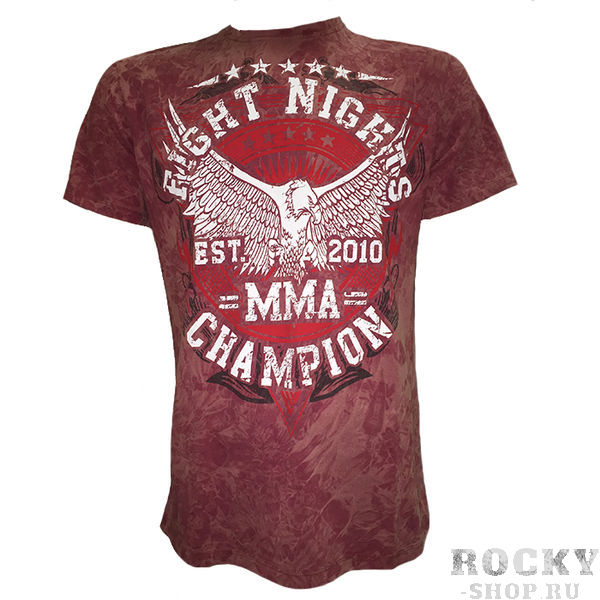 MMA Champion, бордовая Fight Nights