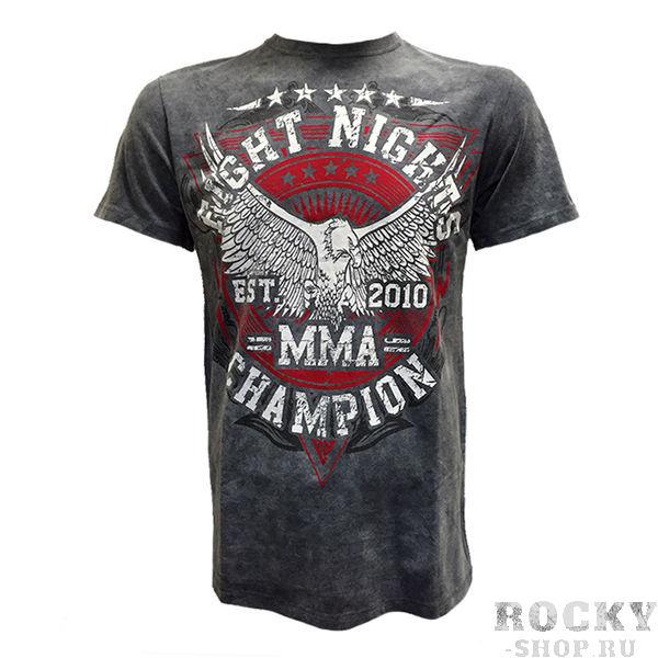 Купить Футболка Fight Nights MMA Champion серый (арт. 14411)