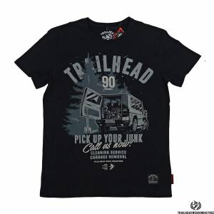 Футболка Trailhead Junk Black TrailheadФутболки / Майки / Поло<br><br>