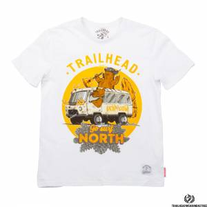 Футболка Trailhead GO SURF NORTH 2 White TrailheadФутболки / Майки / Поло<br><br>