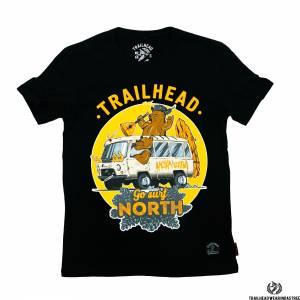 Футболка Trailhead GO SURF NORTH 2 Black TrailheadФутболки / Майки / Поло<br><br>