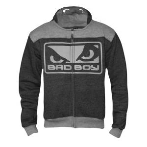 Детская олимпийка Bad Boy Kids Superhero Charcoal (арт. 14536)  - купить со скидкой