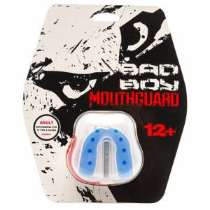 Купить Капа Bad Boy Mouthguard Gel White Blue (арт. 14551)